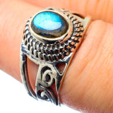 Labradorite Rings handcrafted by Ana Silver Co - RING27098