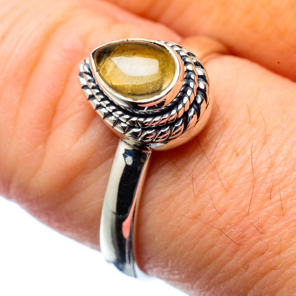 Citrine Rings handcrafted by Ana Silver Co - RING27110