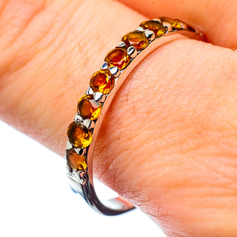 Citrine Rings handcrafted by Ana Silver Co - RING27112