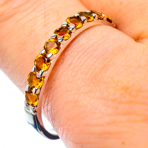 Citrine Rings handcrafted by Ana Silver Co - RING27174
