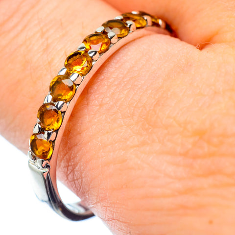 Citrine Rings handcrafted by Ana Silver Co - RING27238
