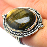 Labradorite Rings handcrafted by Ana Silver Co - RING27437