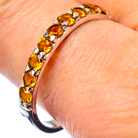 Citrine Rings handcrafted by Ana Silver Co - RING27564