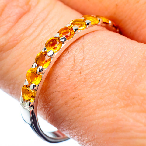 Citrine Rings handcrafted by Ana Silver Co - RING27913