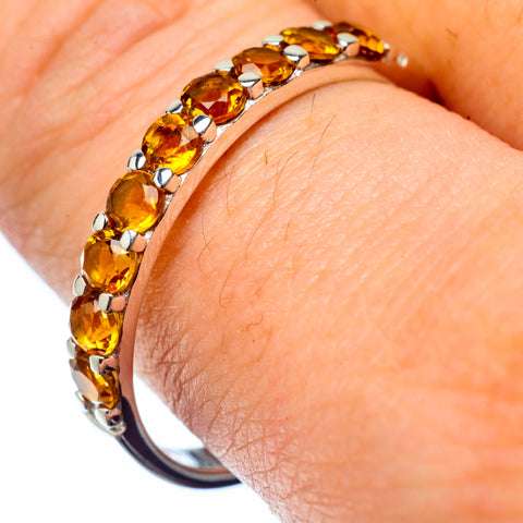 Citrine Rings handcrafted by Ana Silver Co - RING27959