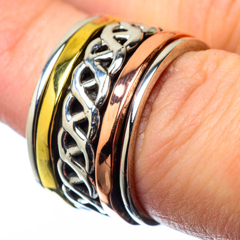 Meditation Spinner Rings handcrafted by Ana Silver Co - RING27973
