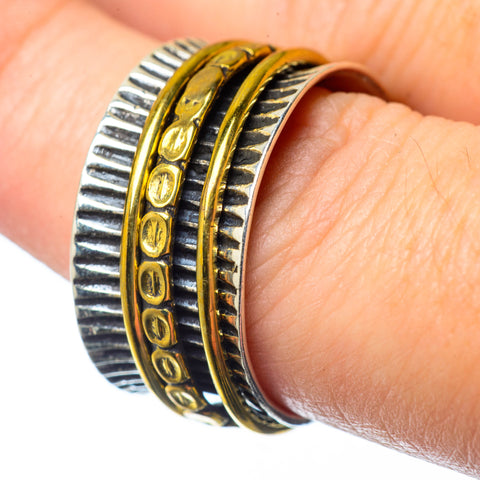 Meditation Spinner Rings handcrafted by Ana Silver Co - RING28018