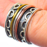 Meditation Spinner Rings handcrafted by Ana Silver Co - RING28521