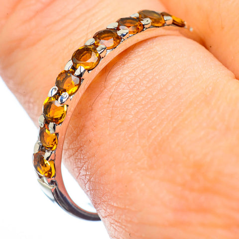 Citrine Rings handcrafted by Ana Silver Co - RING28545