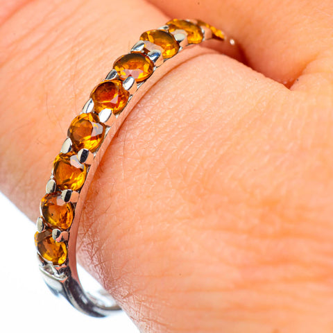 Citrine Rings handcrafted by Ana Silver Co - RING28705