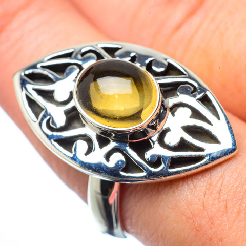 Citrine Rings handcrafted by Ana Silver Co - RING28860