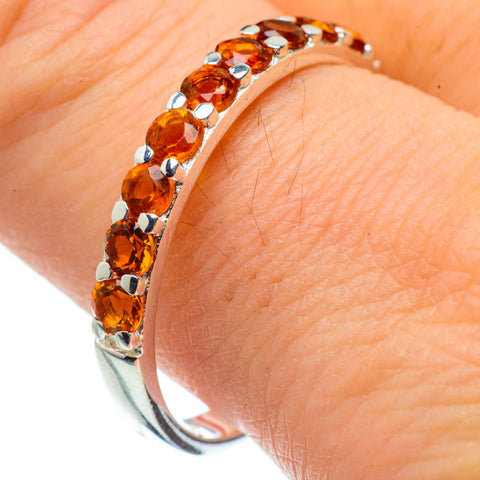 Citrine Rings handcrafted by Ana Silver Co - RING28915