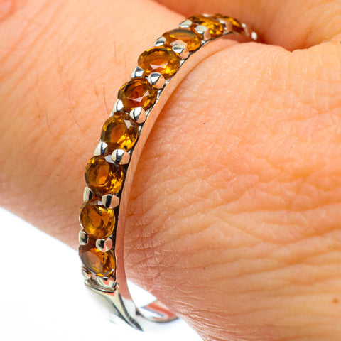 Citrine Rings handcrafted by Ana Silver Co - RING28971