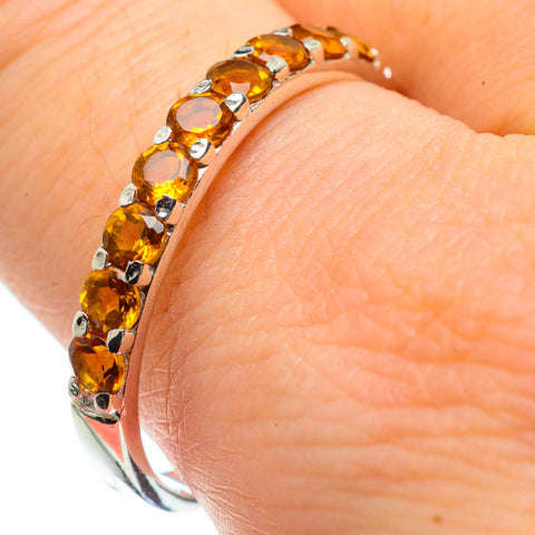 Citrine Rings handcrafted by Ana Silver Co - RING29057