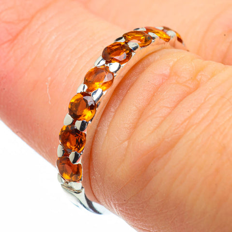Citrine Rings handcrafted by Ana Silver Co - RING29062