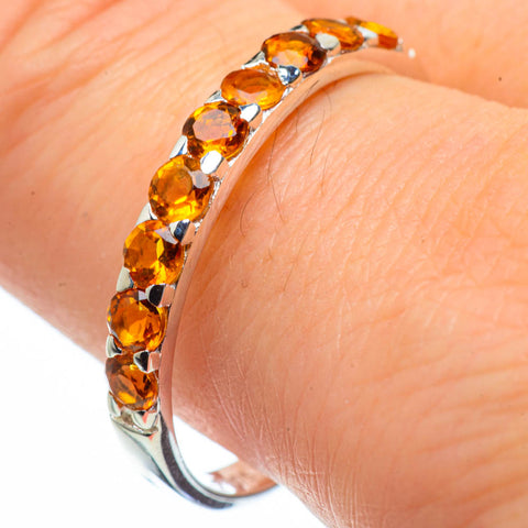 Citrine Rings handcrafted by Ana Silver Co - RING29070