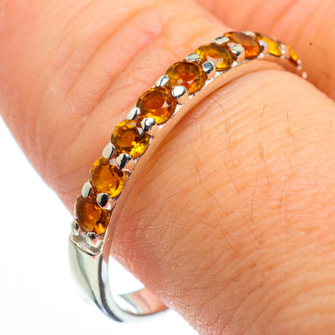 Citrine Rings handcrafted by Ana Silver Co - RING29078