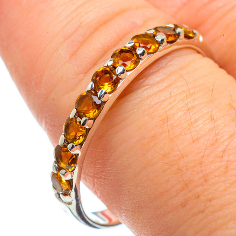 Citrine Rings handcrafted by Ana Silver Co - RING29081
