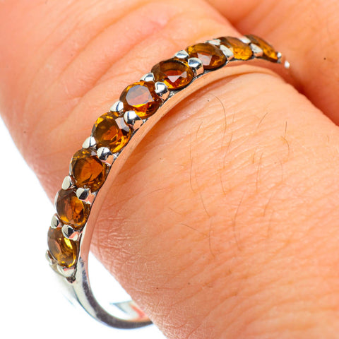 Citrine Rings handcrafted by Ana Silver Co - RING29117