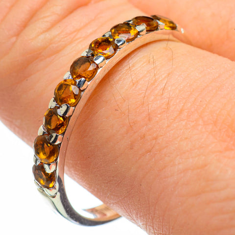 Citrine Rings handcrafted by Ana Silver Co - RING29138