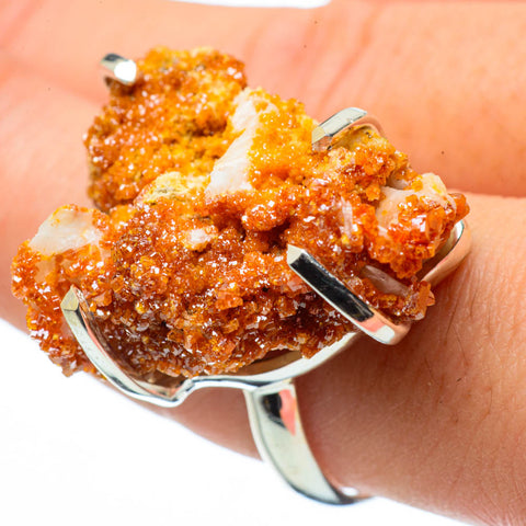 Vanadinite Rings handcrafted by Ana Silver Co - RING29379