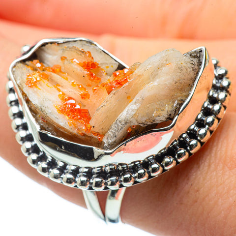 Citrine Crystal Rings handcrafted by Ana Silver Co - RING29454