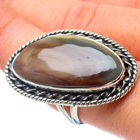 Willow Creek Jasper Rings handcrafted by Ana Silver Co - RING29489