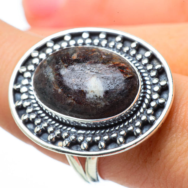 Astrophyllite Rings handcrafted by Ana Silver Co - RING29541