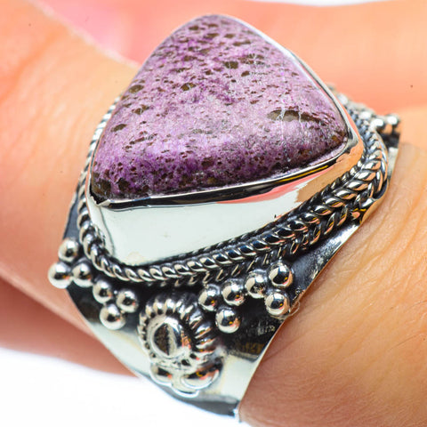 Stichtite Rings handcrafted by Ana Silver Co - RING29728