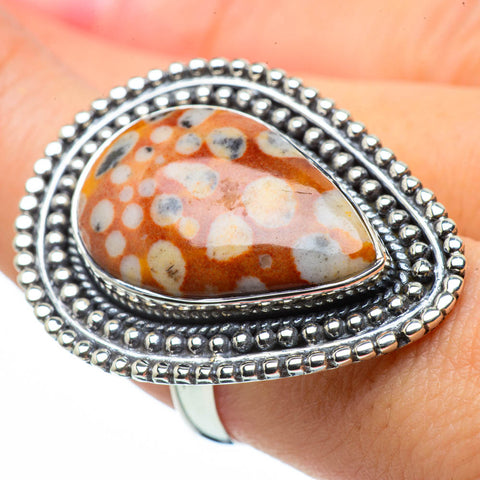 Ocean Jasper Rings handcrafted by Ana Silver Co - RING29827