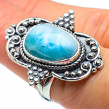 Larimar Rings handcrafted by Ana Silver Co - RING30044
