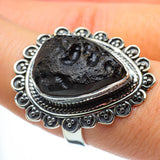 Tektite Rings handcrafted by Ana Silver Co - RING30217