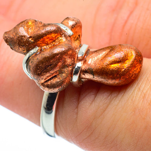 Splash Copper Rings handcrafted by Ana Silver Co - RING30459