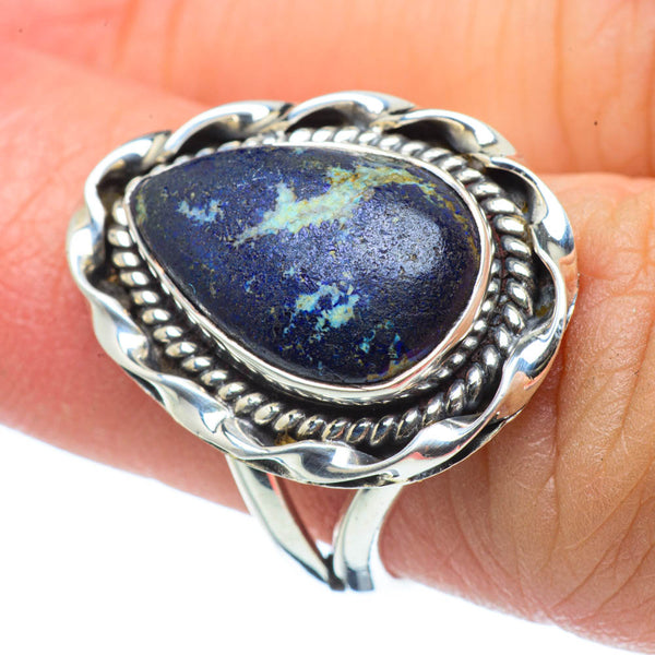 Sodalite Rings handcrafted by Ana Silver Co - RING30580