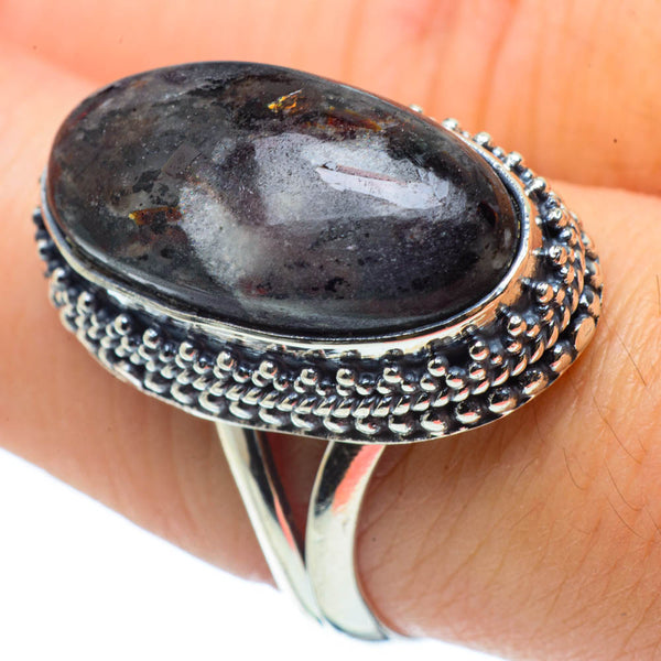 Astrophyllite Rings handcrafted by Ana Silver Co - RING30585