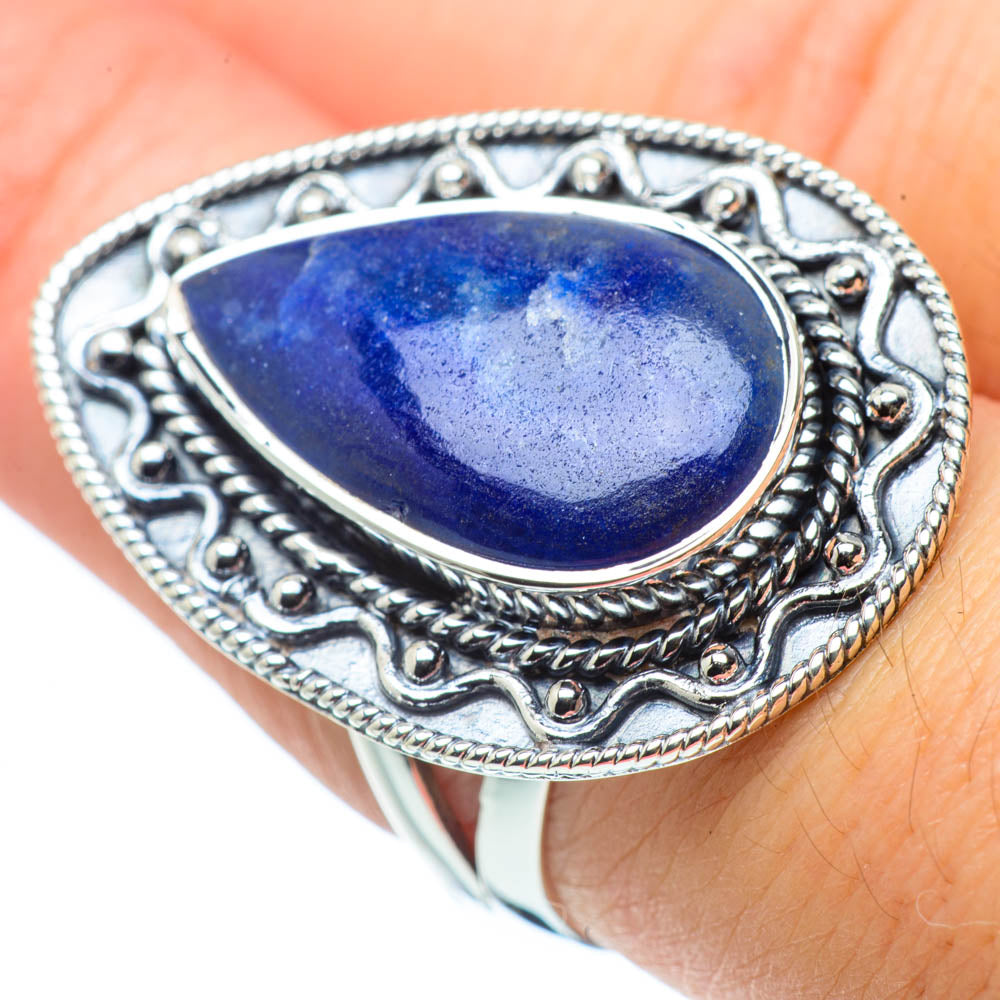 Sodalite Rings handcrafted by Ana Silver Co - RING30610