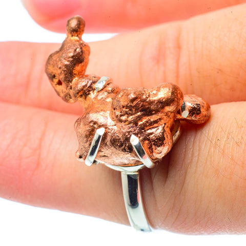 Splash Copper Rings handcrafted by Ana Silver Co - RING30682