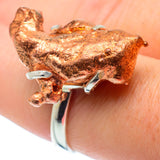 Splash Copper Rings handcrafted by Ana Silver Co - RING30813