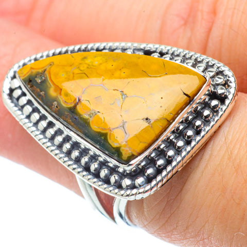 Ocean Jasper Rings handcrafted by Ana Silver Co - RING30979