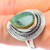 Willow Creek Jasper Rings handcrafted by Ana Silver Co - RING31065