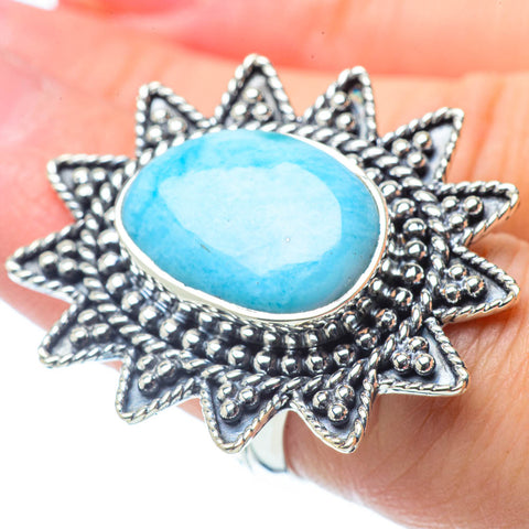 Larimar Rings handcrafted by Ana Silver Co - RING31095