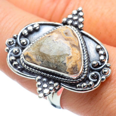 Ocean Jasper Rings handcrafted by Ana Silver Co - RING31369