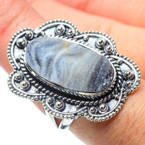 Desert Druzy Rings handcrafted by Ana Silver Co - RING31420