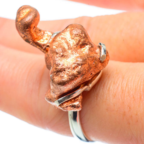 Splash Copper Rings handcrafted by Ana Silver Co - RING31597