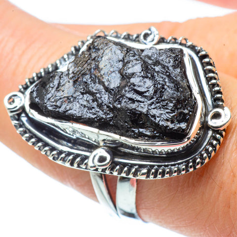Tektite Rings handcrafted by Ana Silver Co - RING31725