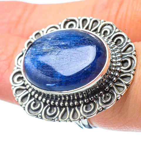 Kyanite Rings handcrafted by Ana Silver Co - RING31788