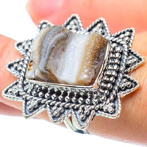 Desert Druzy Rings handcrafted by Ana Silver Co - RING31830