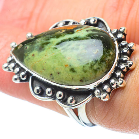 Ocean Jasper Rings handcrafted by Ana Silver Co - RING31934
