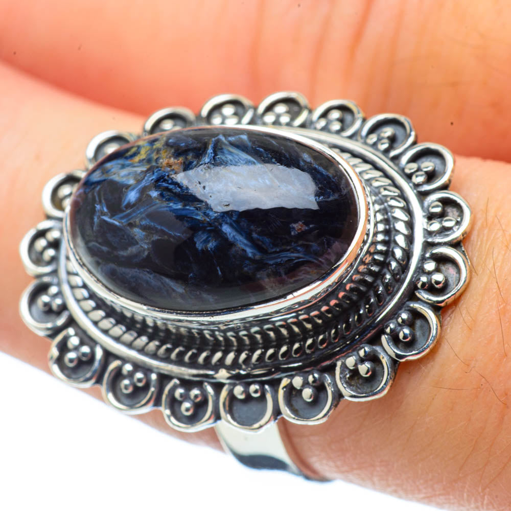 Pietersite Rings handcrafted by Ana Silver Co - RING32285
