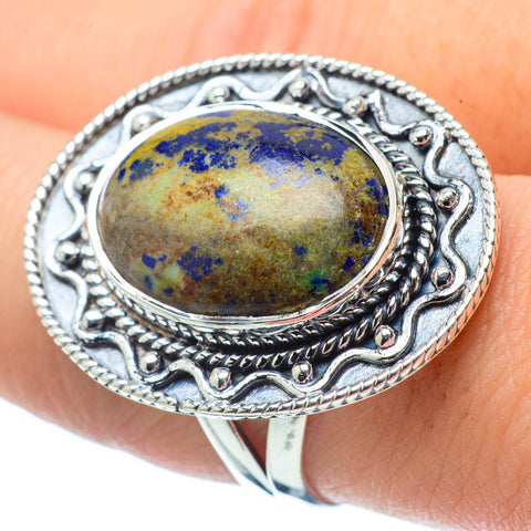 Sodalite Rings handcrafted by Ana Silver Co - RING32377